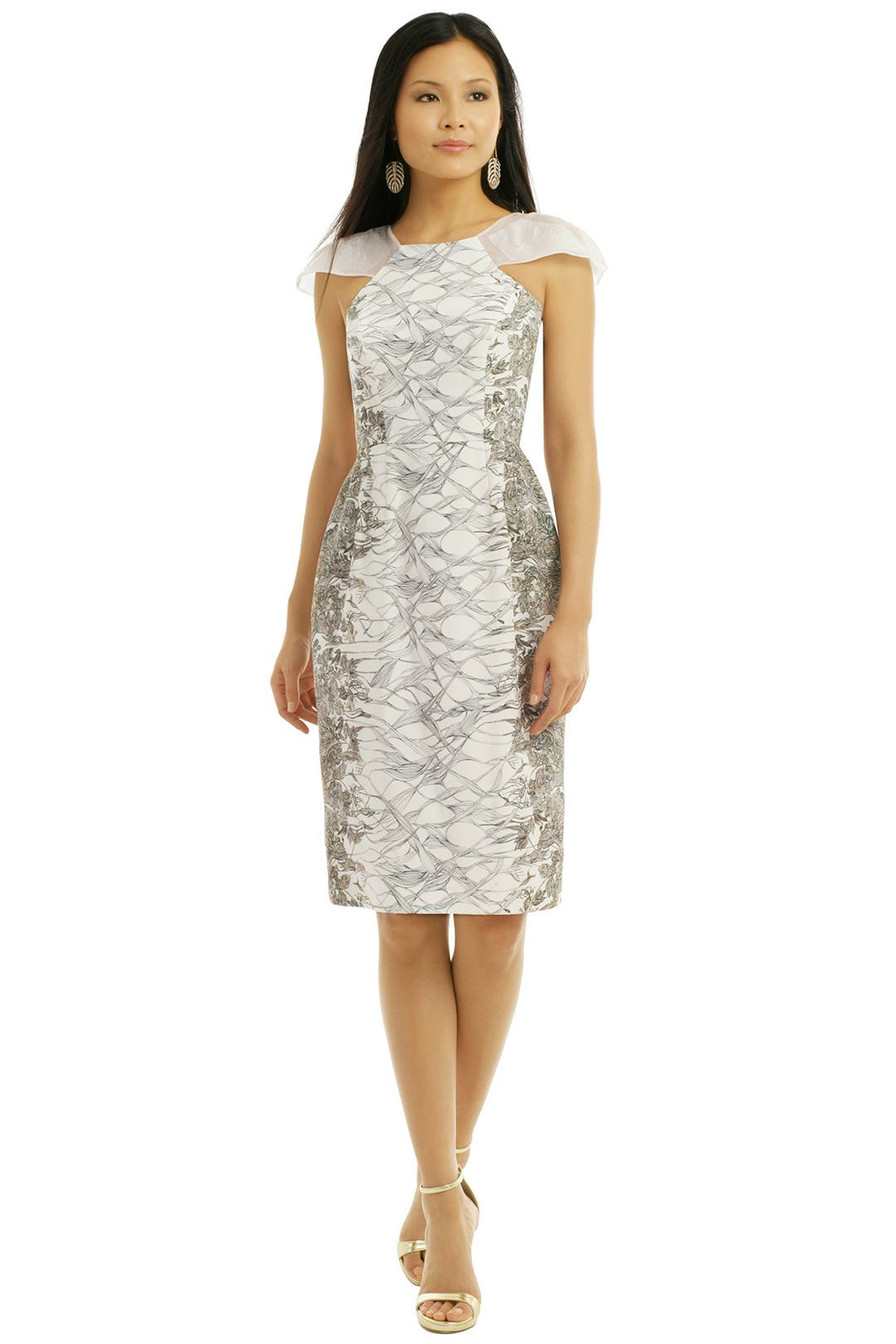 Gossamer Floral Dress by Honor