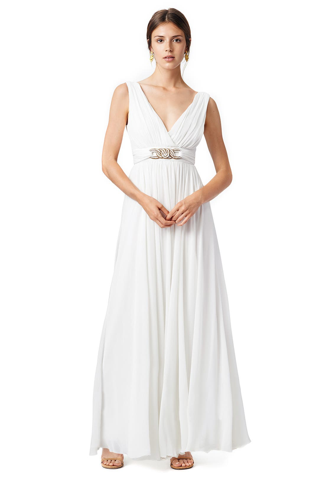 Antigua Bay Gown by Badgley Mischka