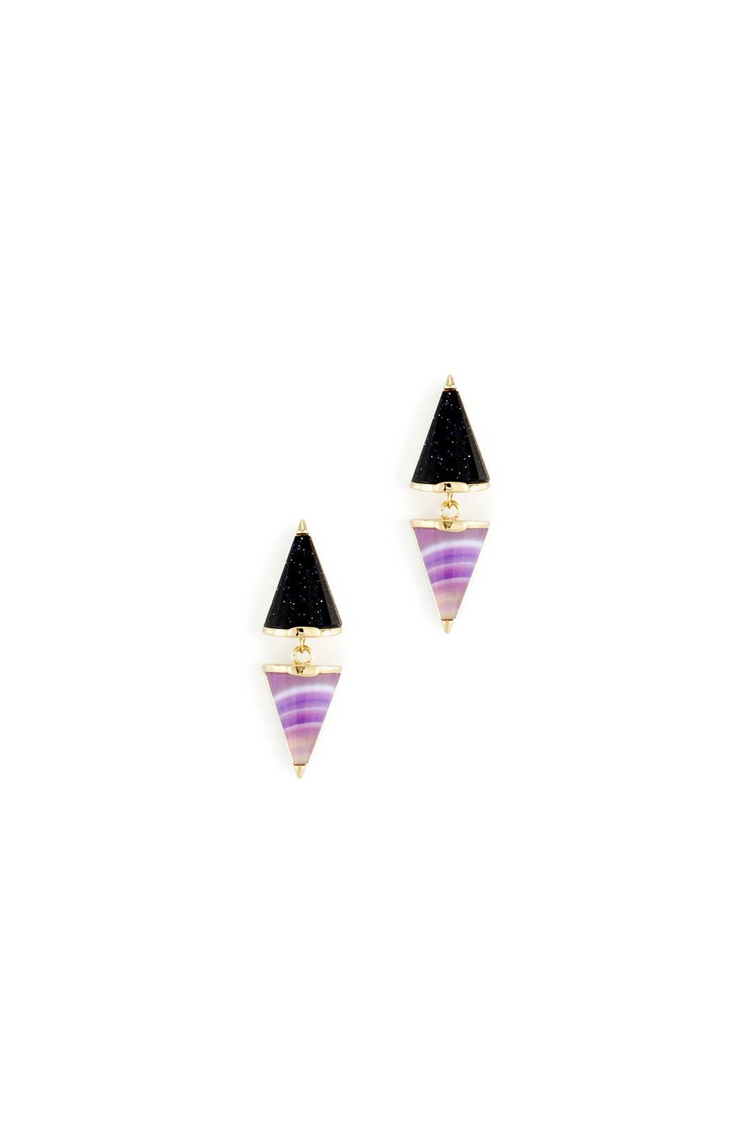Cosmic Mini Cone Earrings by Sarah Magid