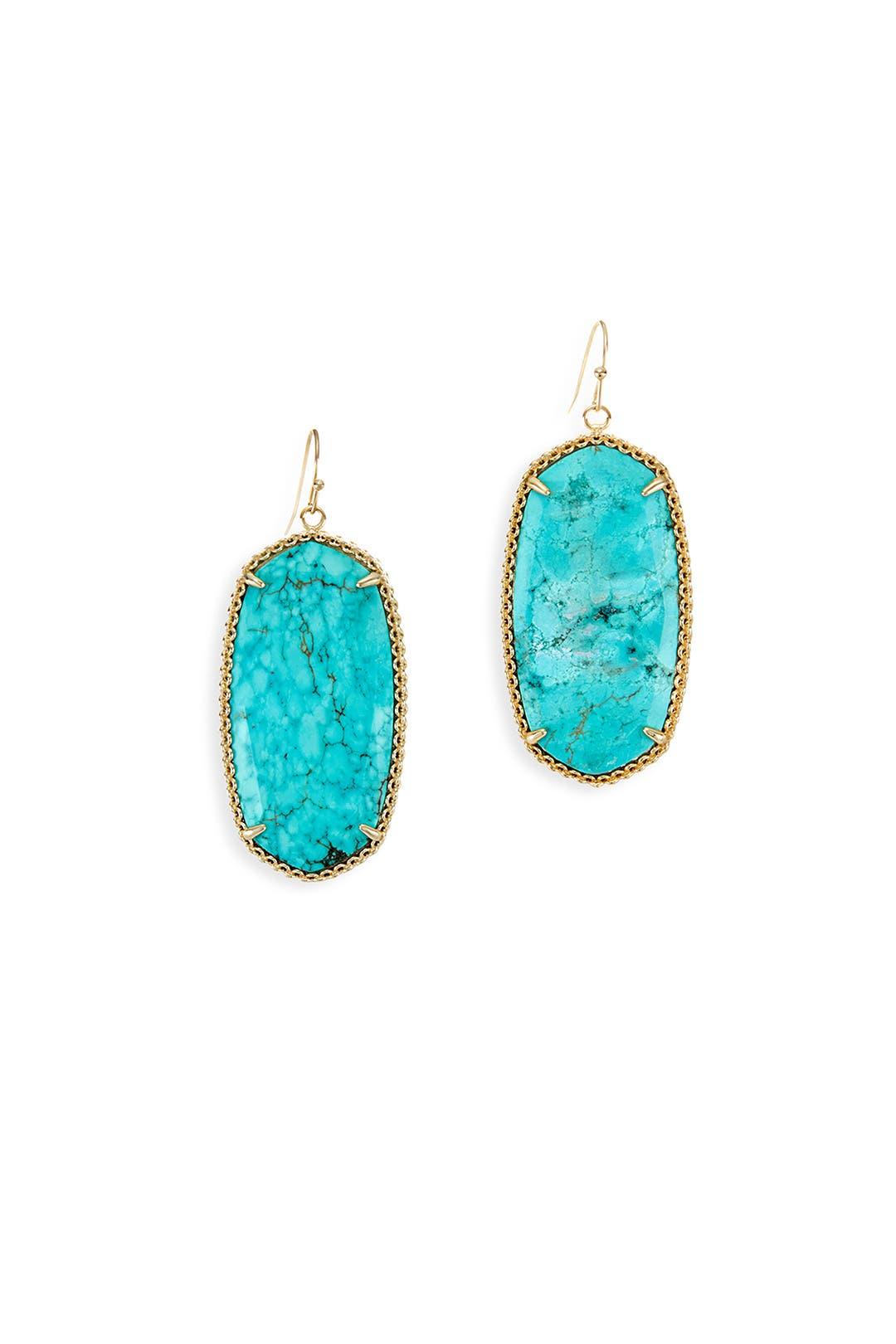Turq Deily Earrings by Kendra Scott