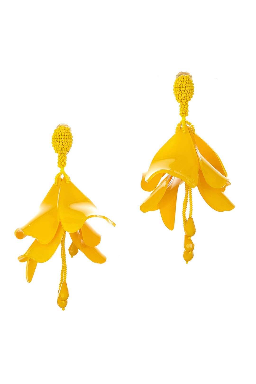 Marigold impatiens flower drop earrings by oscar de la renta for 65 marigold impatiens flower drop earrings by oscar de la renta for 65 rent the runway mightylinksfo