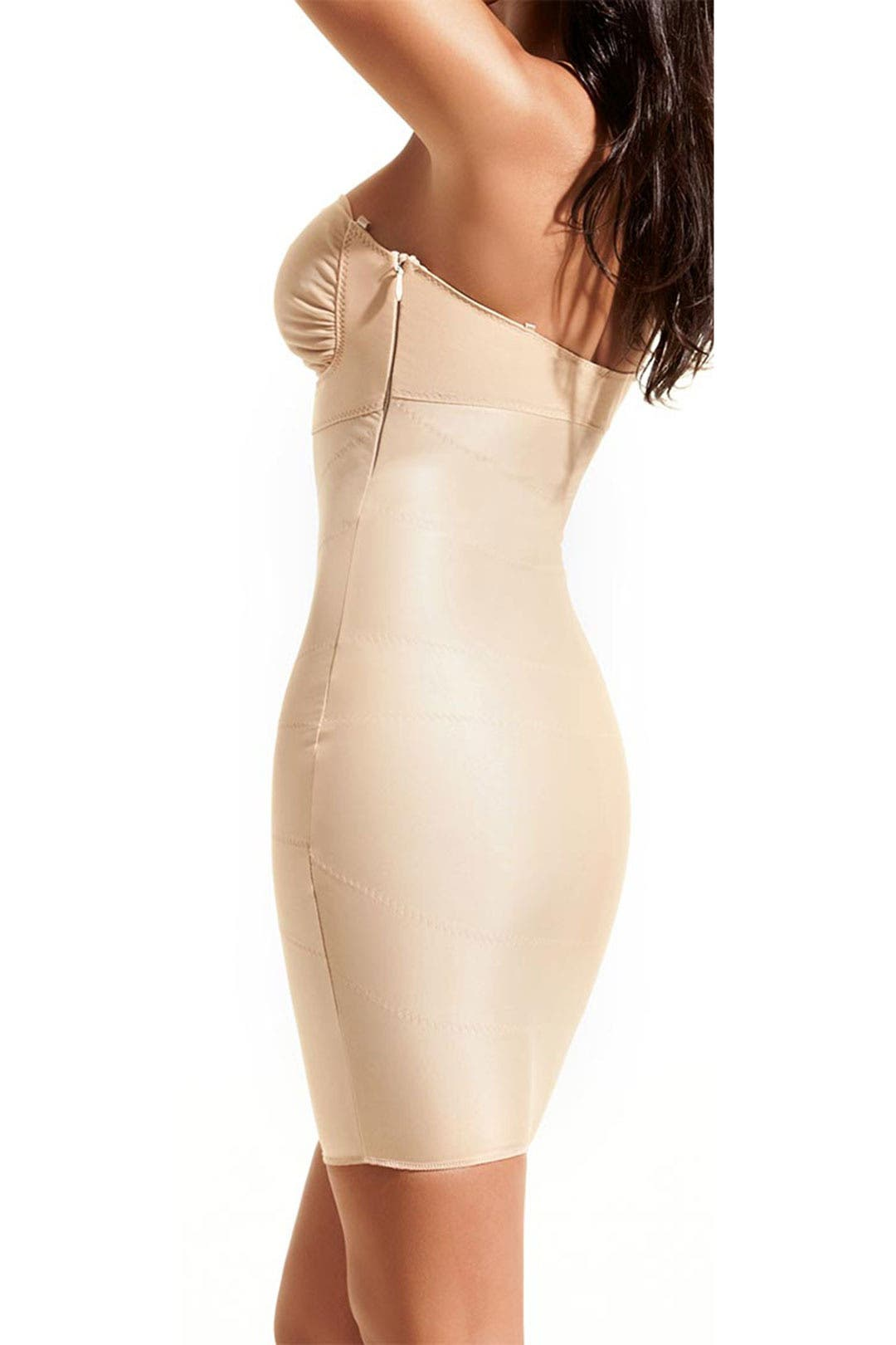Nude Grace Strapless Full Slip by D Mondaine