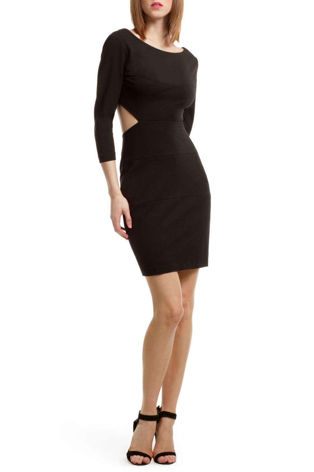 Cut It Out Dress by Halston Heritage