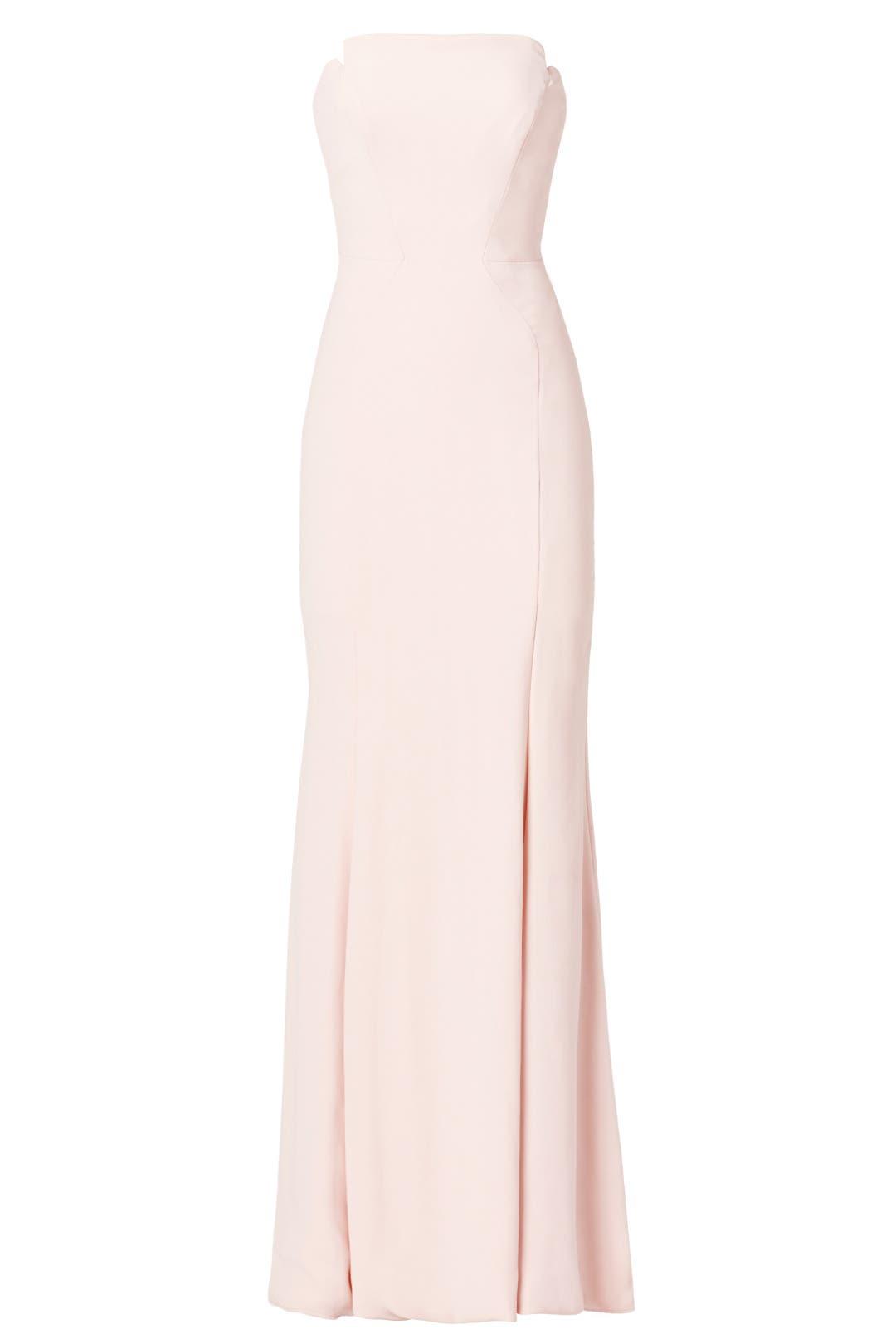 Blush Academy Gown by Jill Jill Stuart for $100 | Rent the Runway