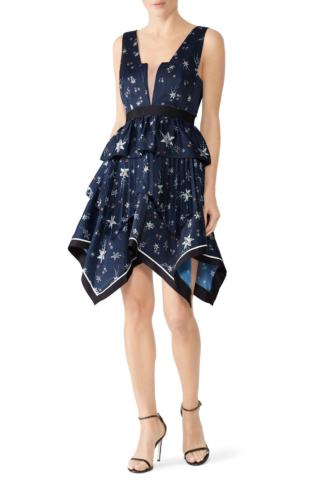 724f034a3a06 Star Handkerchief Dress by Self-portrait for $60 - $70 | Rent the Runway