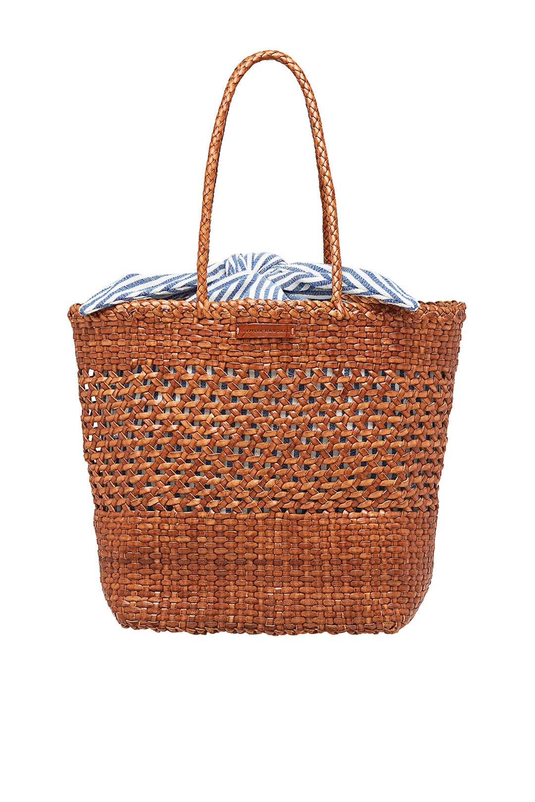 d055091fe7e3 Loeffler Randall. Read Reviews. Maya Woven Shopper Tote