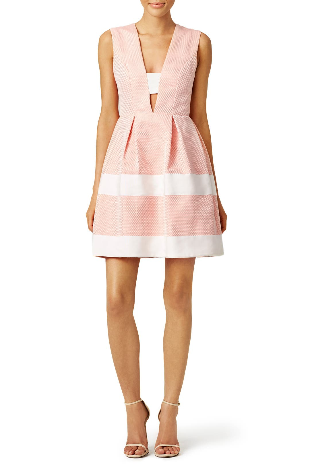 Pink Candy Stripe Dress By Nha Khanh For 50 85 Rent