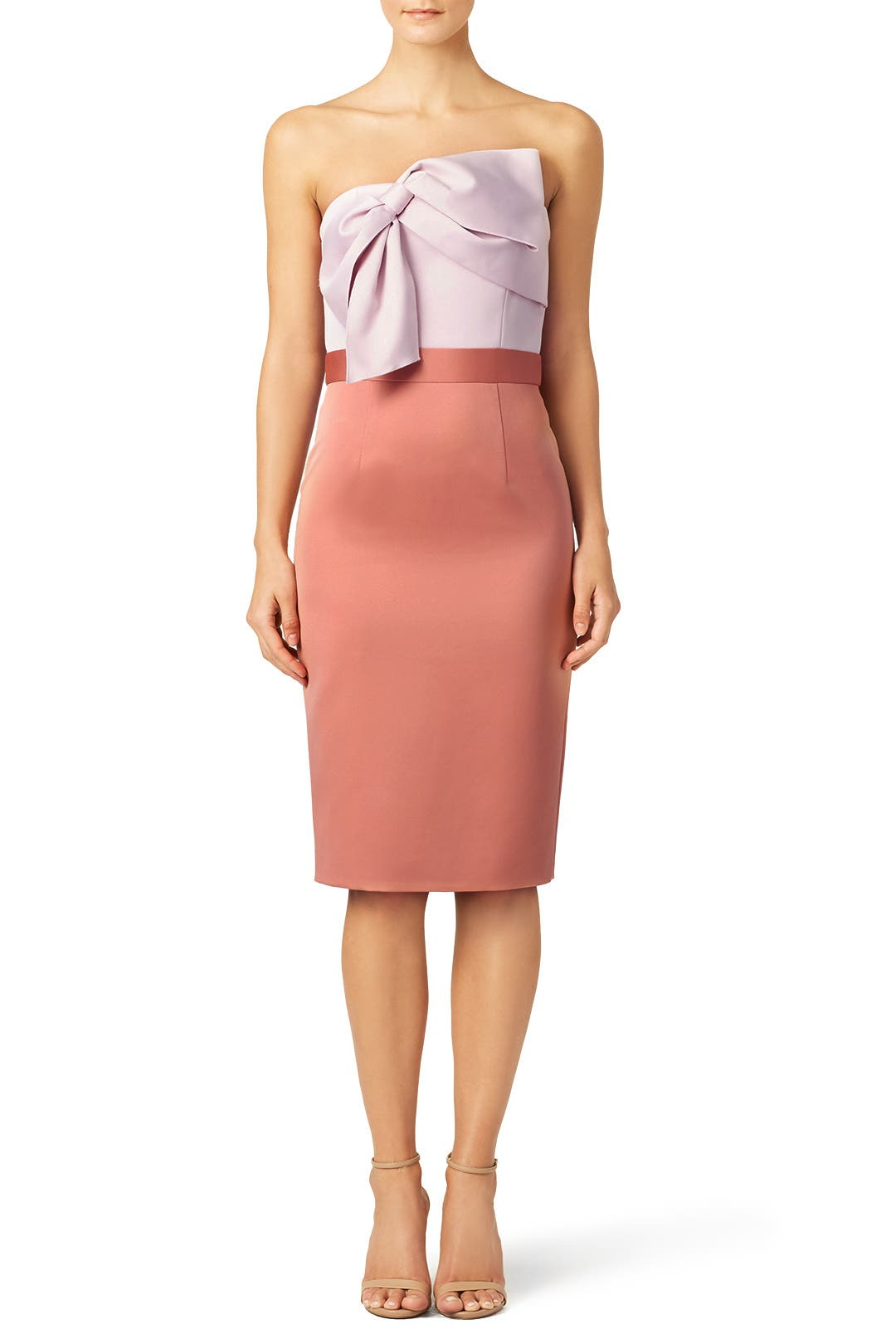 Color Block Twist Sheath By Cynthia Rowley For 65 Rent The Runway