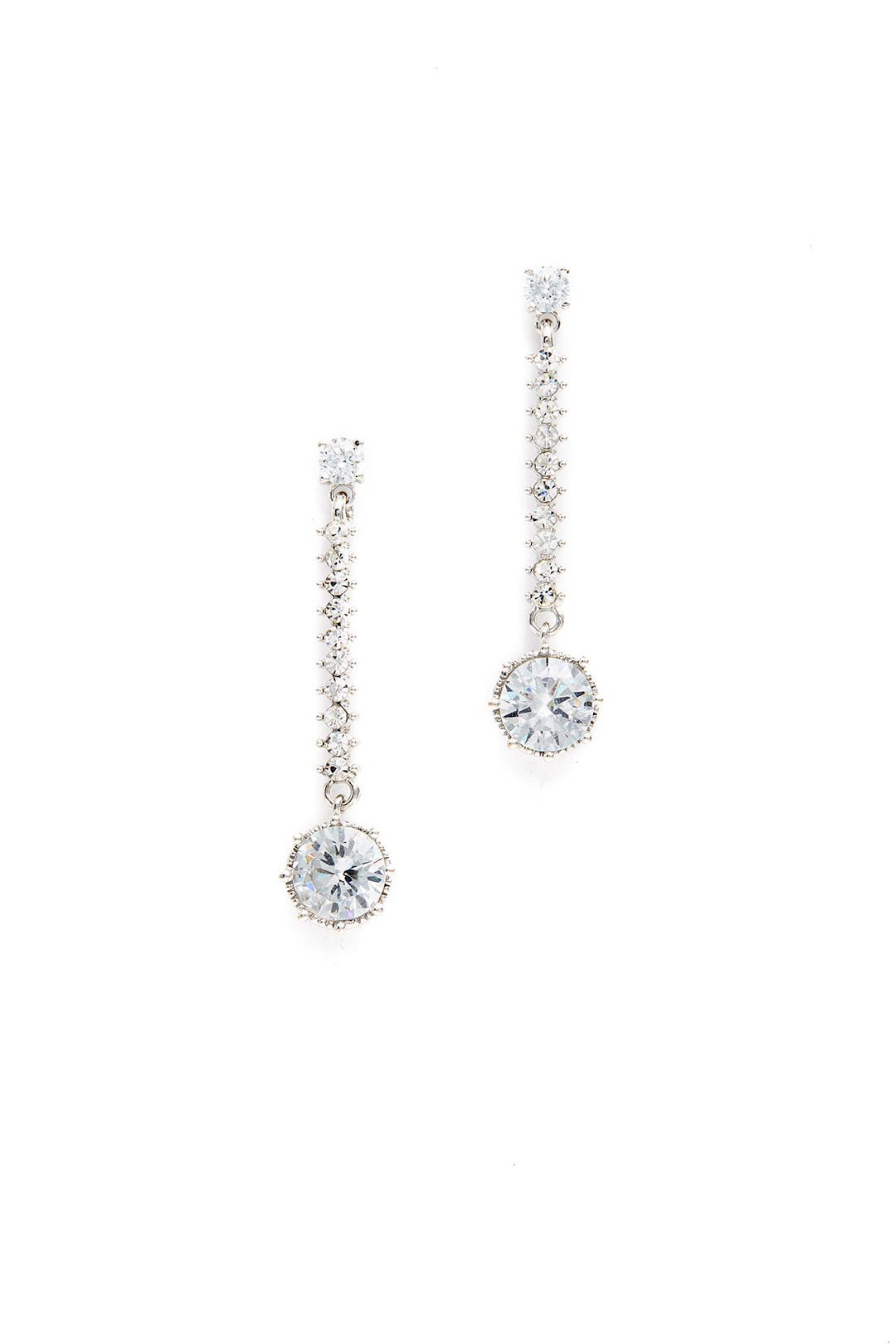 Classic Sparkle Crystal Earrings By Slate & Willow Accessories For $5  Rent  The Runway