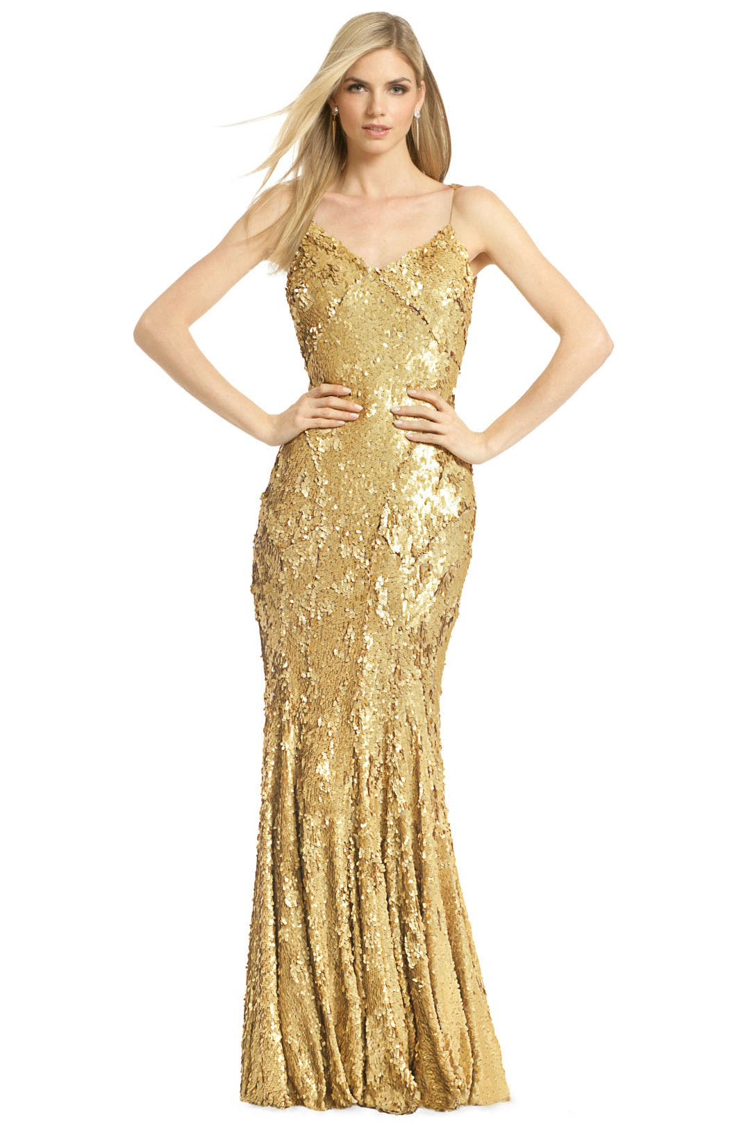 As Good as Gold Gown by ZAC Zac Posen