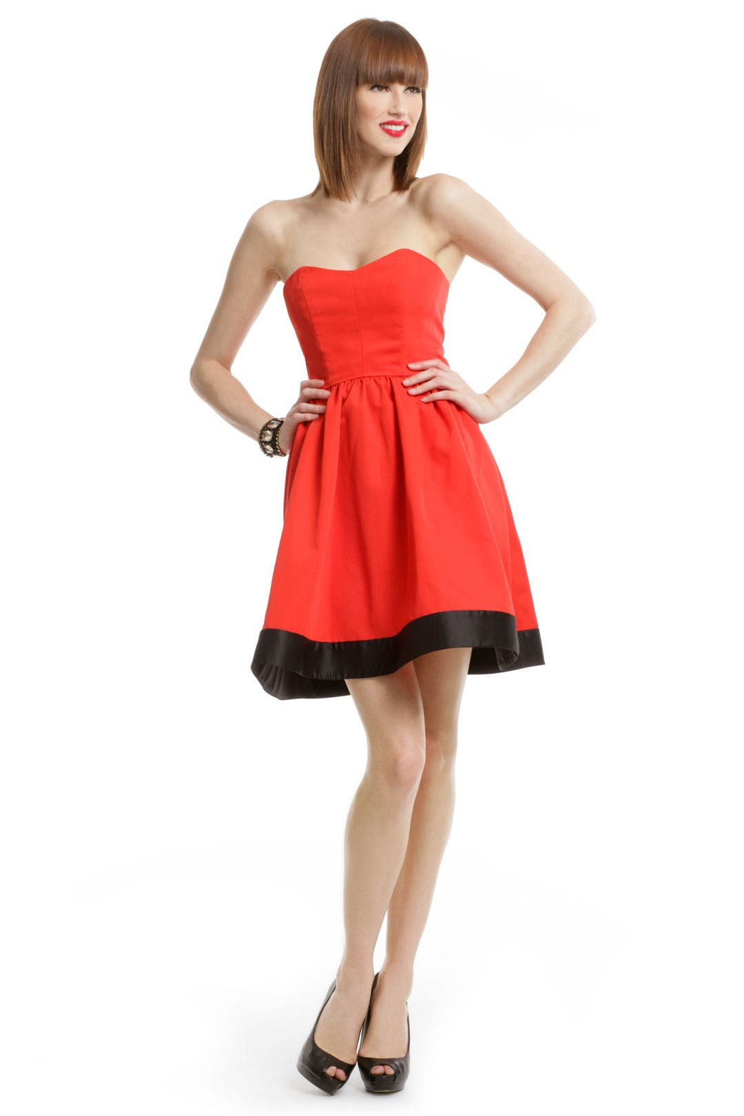Poppy Sweetheart Dress by Thread Social