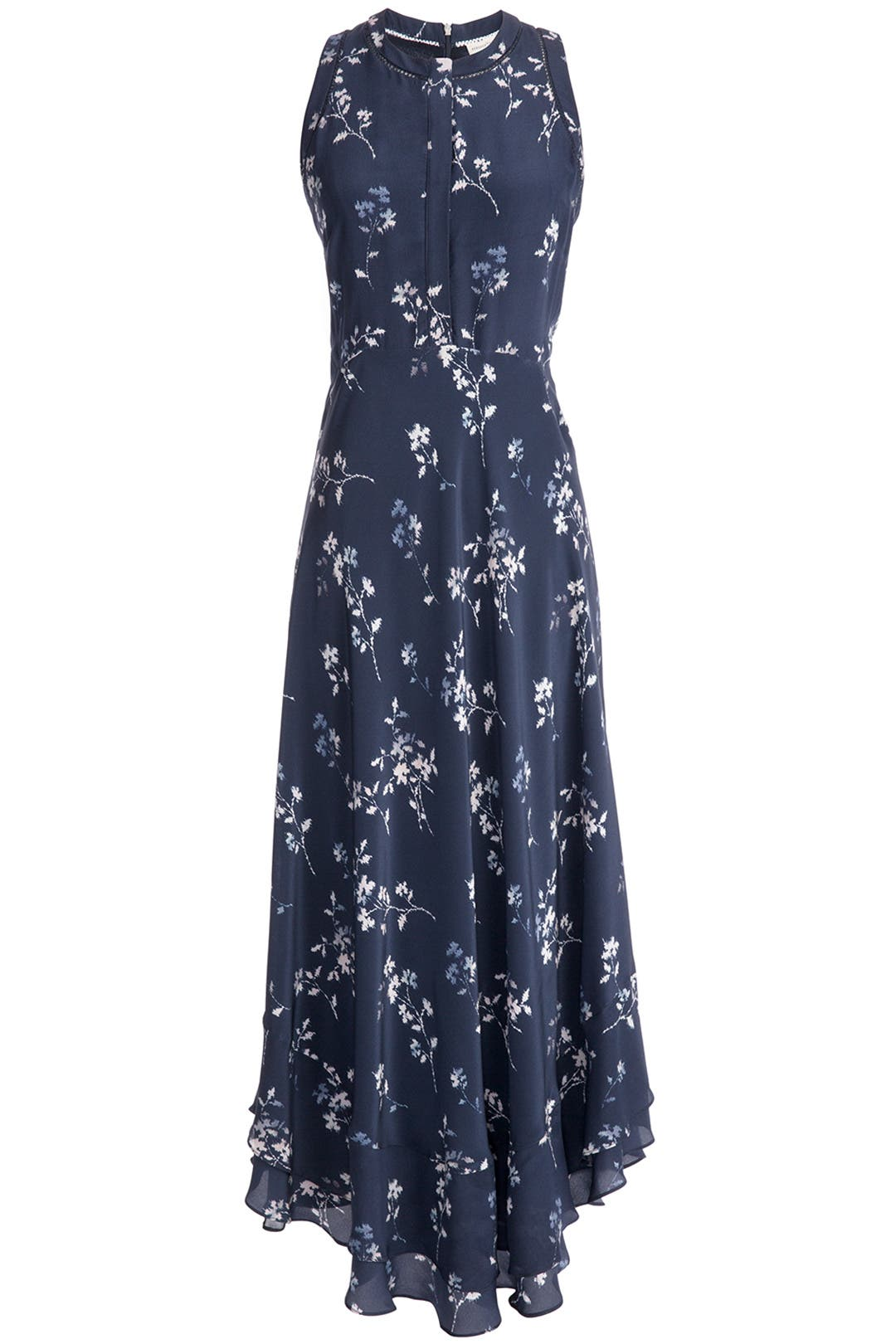 Rosemary Flame Maxi Dress by Rebecca Taylor for $148 | Rent the Runway