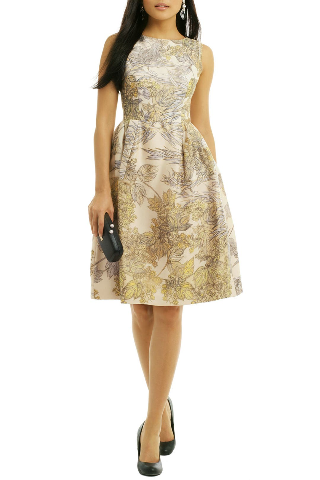 Foliage Cocktail Dress by Honor