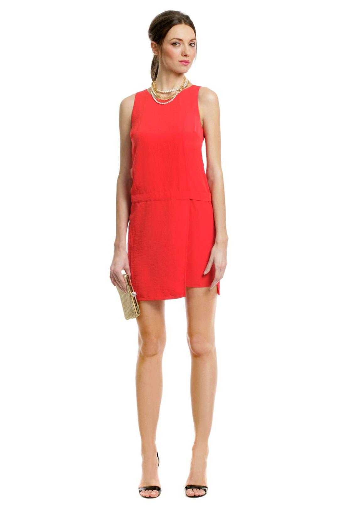 Primary Contrast Zip Dress by Sachin & Babi