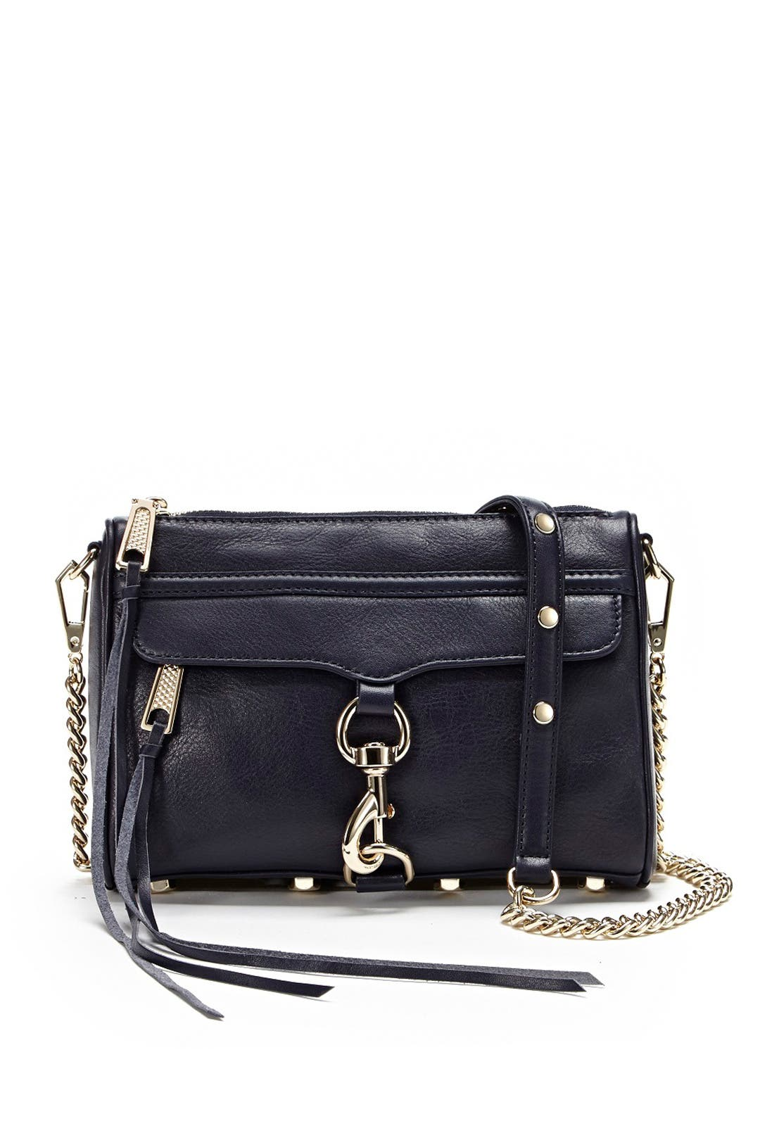Rebecca Minkoff Mini Mac (Black 3) Cross Body Handbags Te3yI