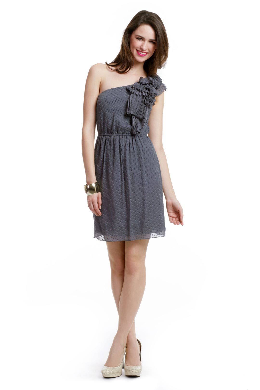 Ruffle Waterfall Dress by Rebecca Taylor