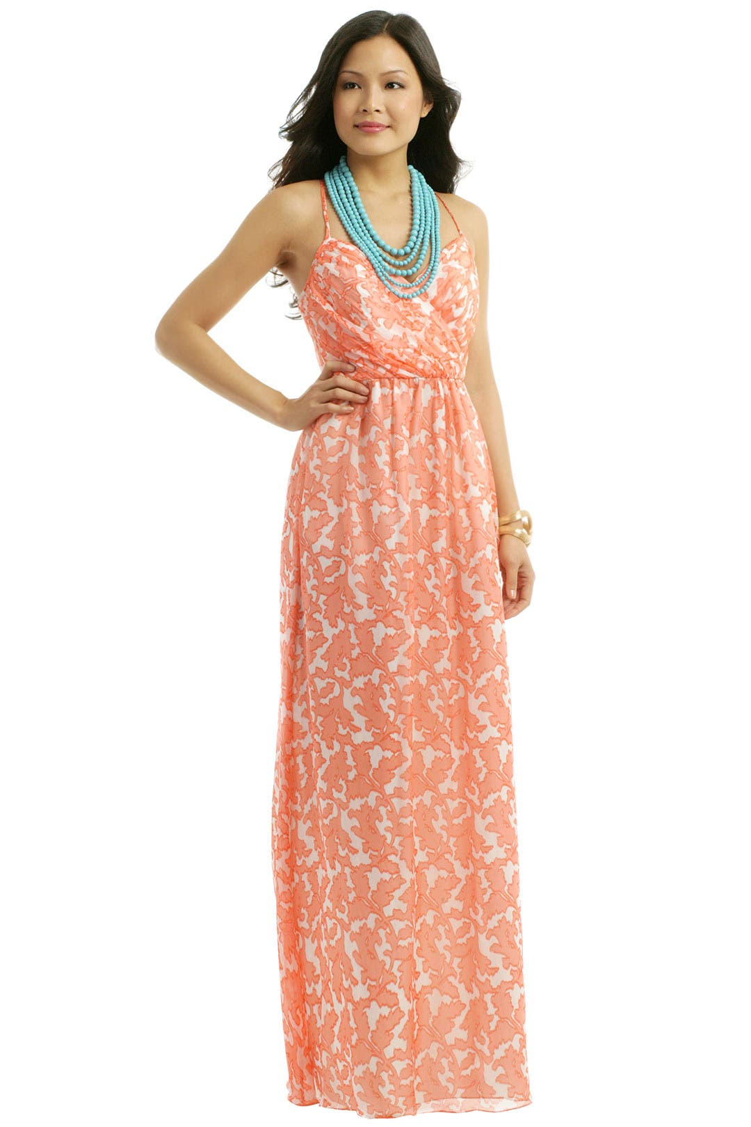 Mia maxi by shoshanna for 54 rent the runway for Rent dress for wedding guest