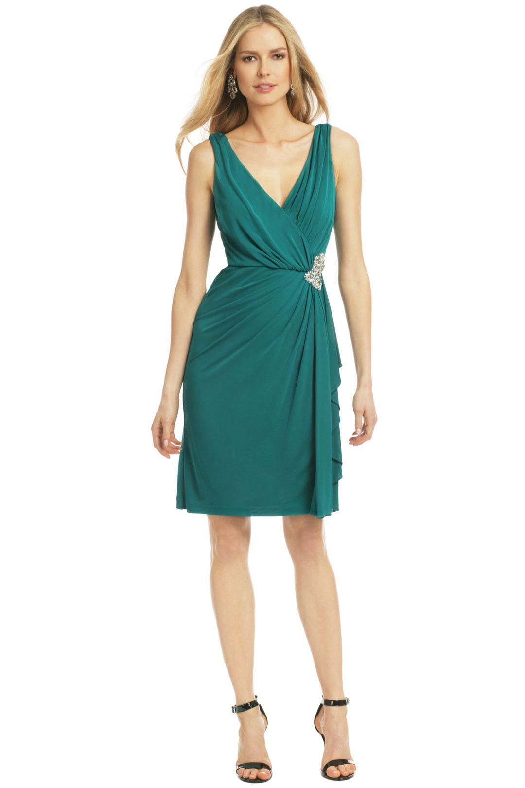 Green Royal Standard Dress by Badgley Mischka