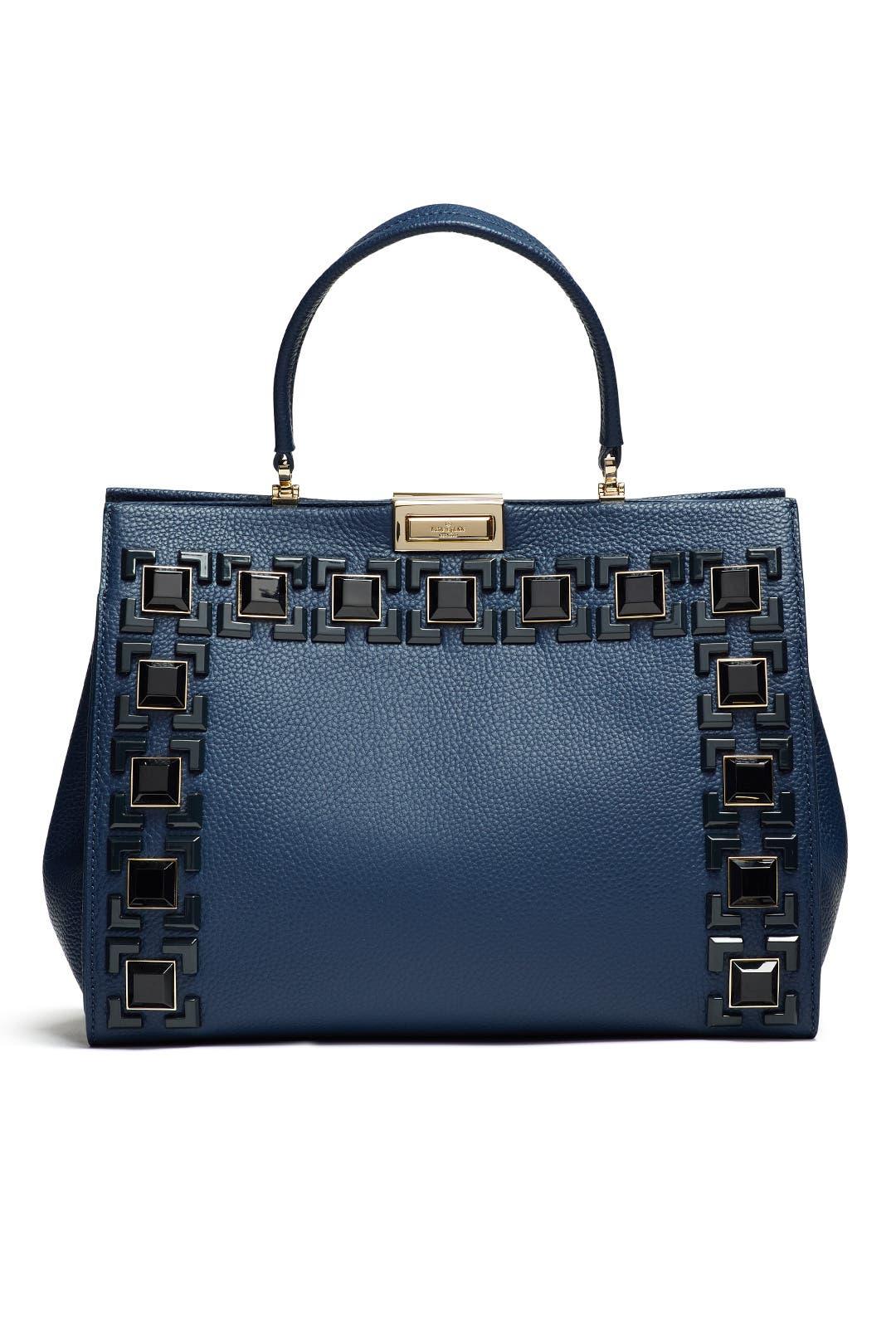 Shoulder Bag for Women, Black, Leather, 2017, one size Kate Spade New York