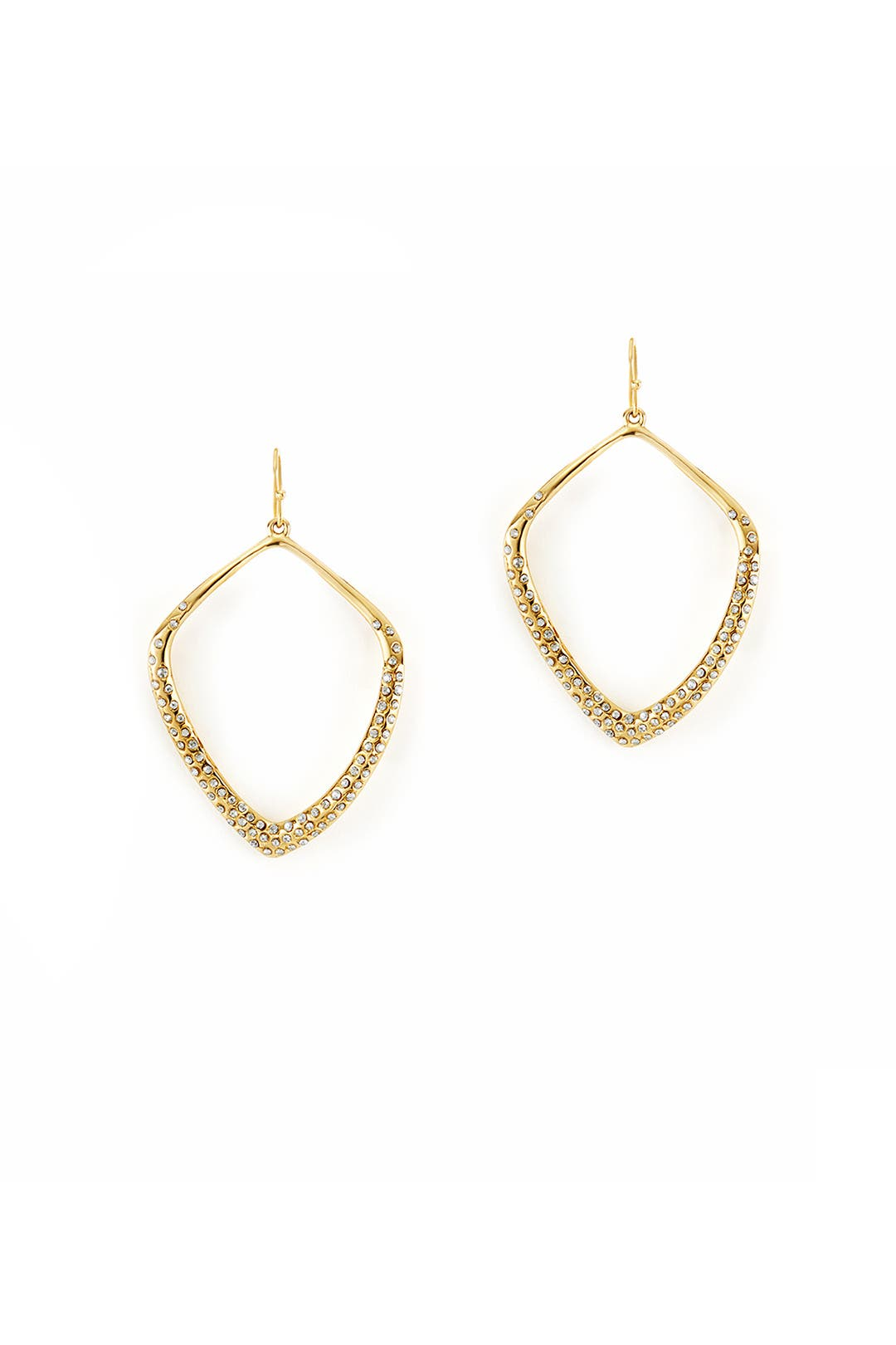 Diamond Circuit Earrings by Alexis Bittar