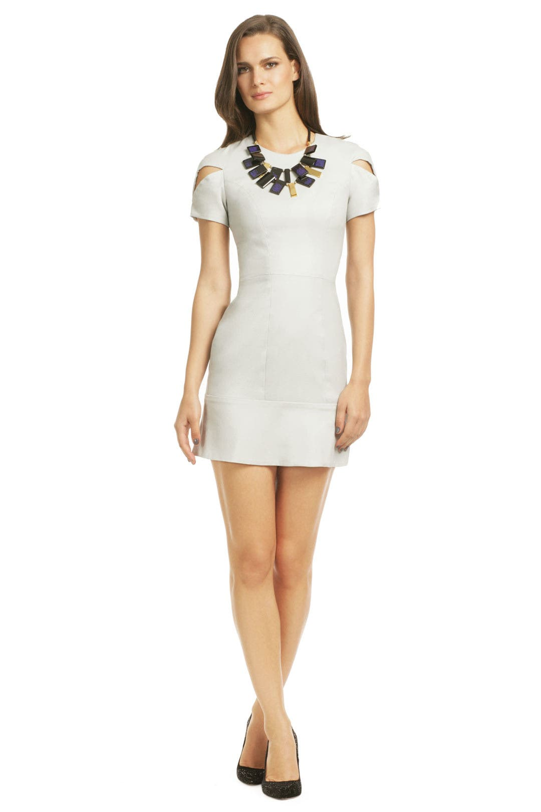 Peep Show Shoulder Dress by camilla and marc