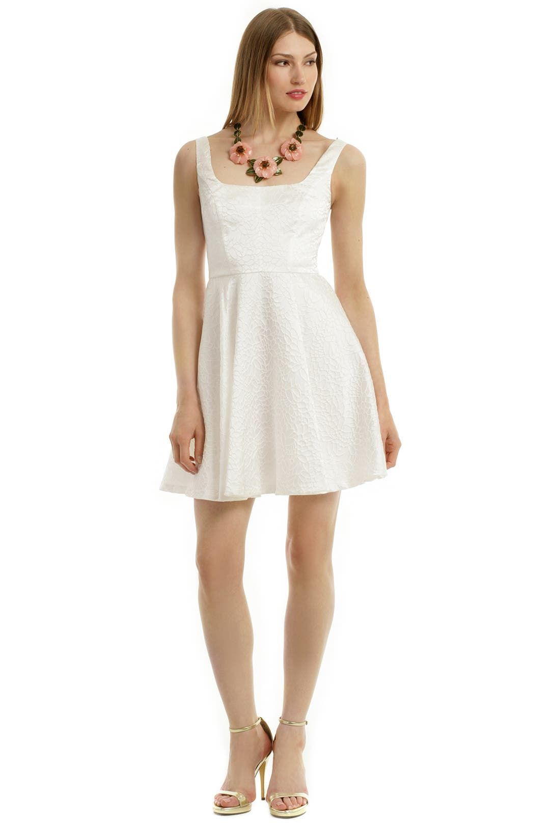 White Roses Are Forever Dress by Jill Jill Stuart
