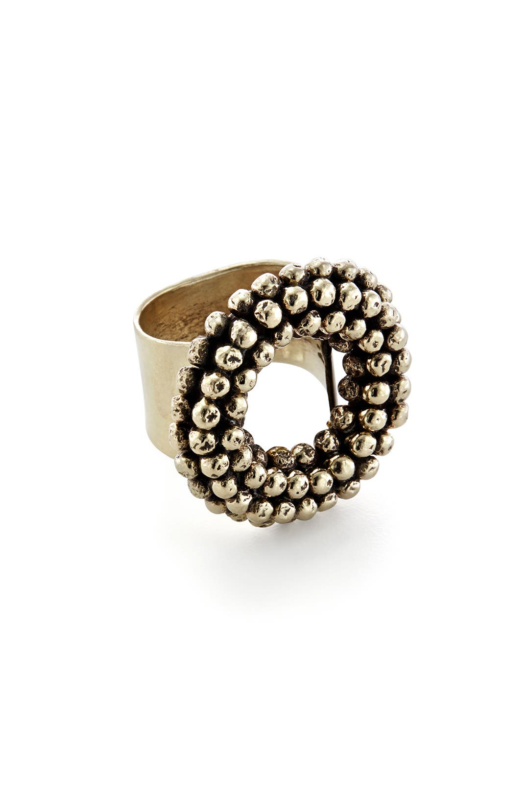 Open Dot Ring by Anndra Neen