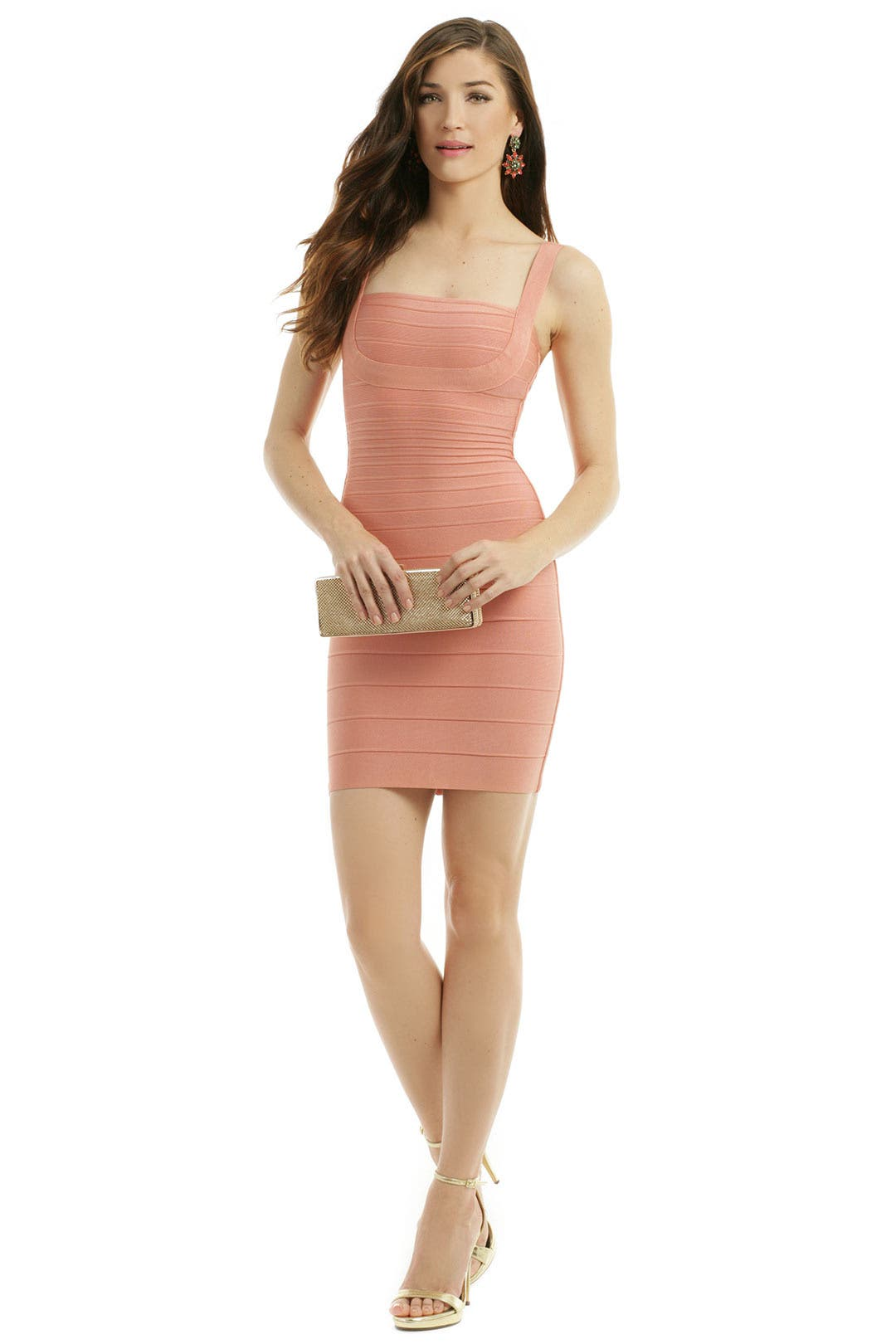 A Hint Of Blush Sheath by Hervé Léger