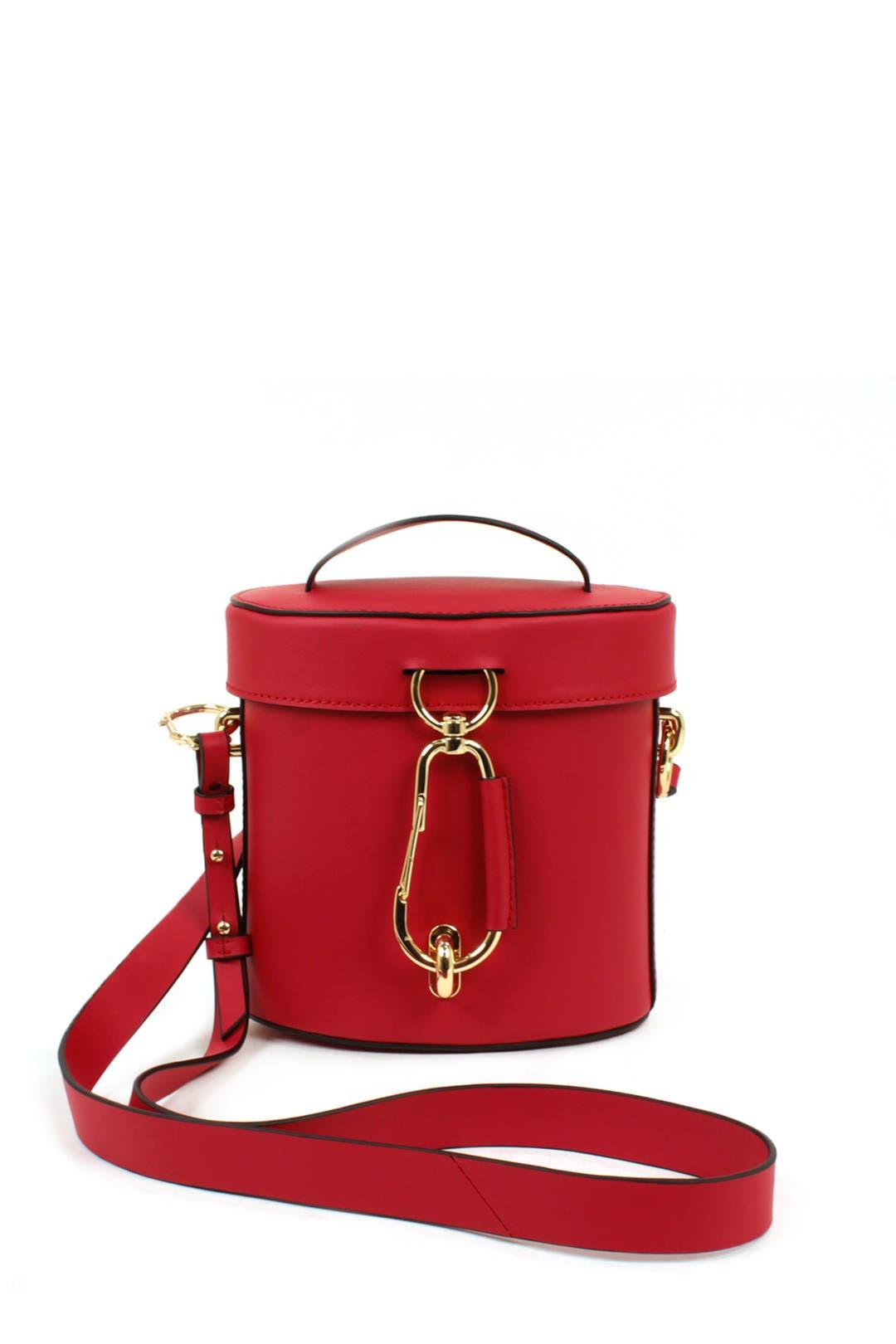 Red Belay Canteen Bag By Zac Zac Posen Handbags For 45