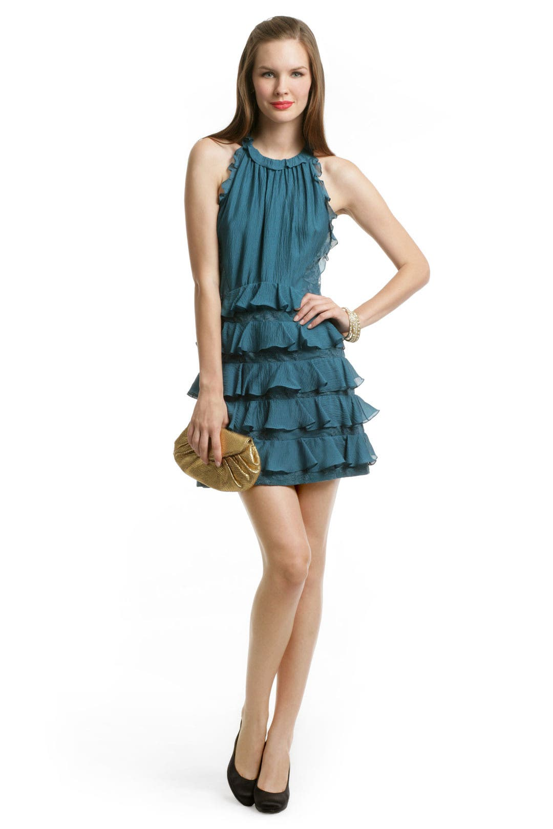 Lace Passion Halter Dress by Rebecca Taylor