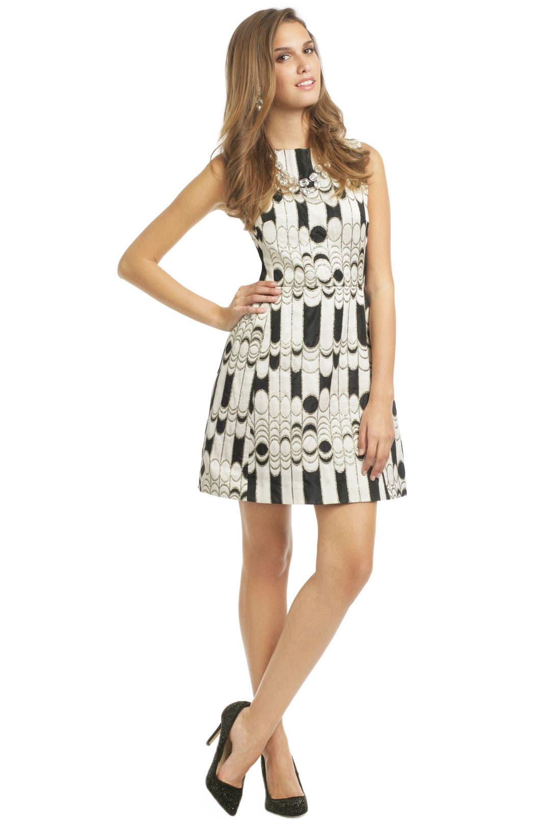 Chessboard Dress by Shoshanna