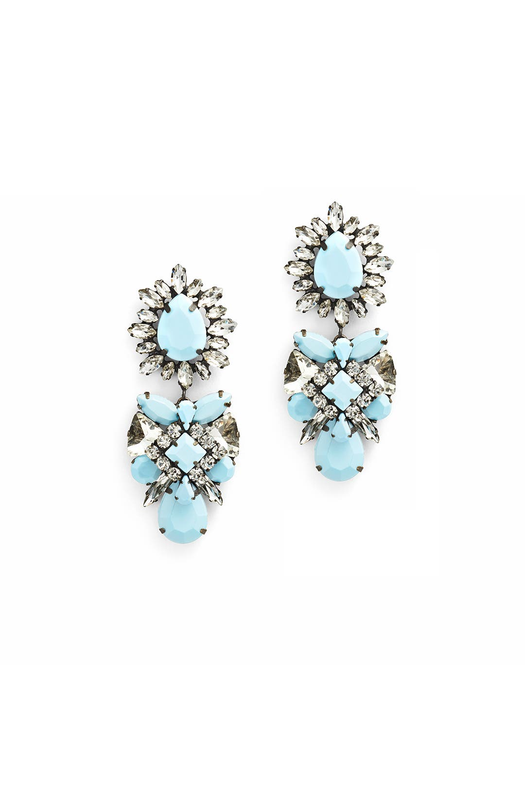 Marina Chandelier Earrings by Slate & Willow Accessories