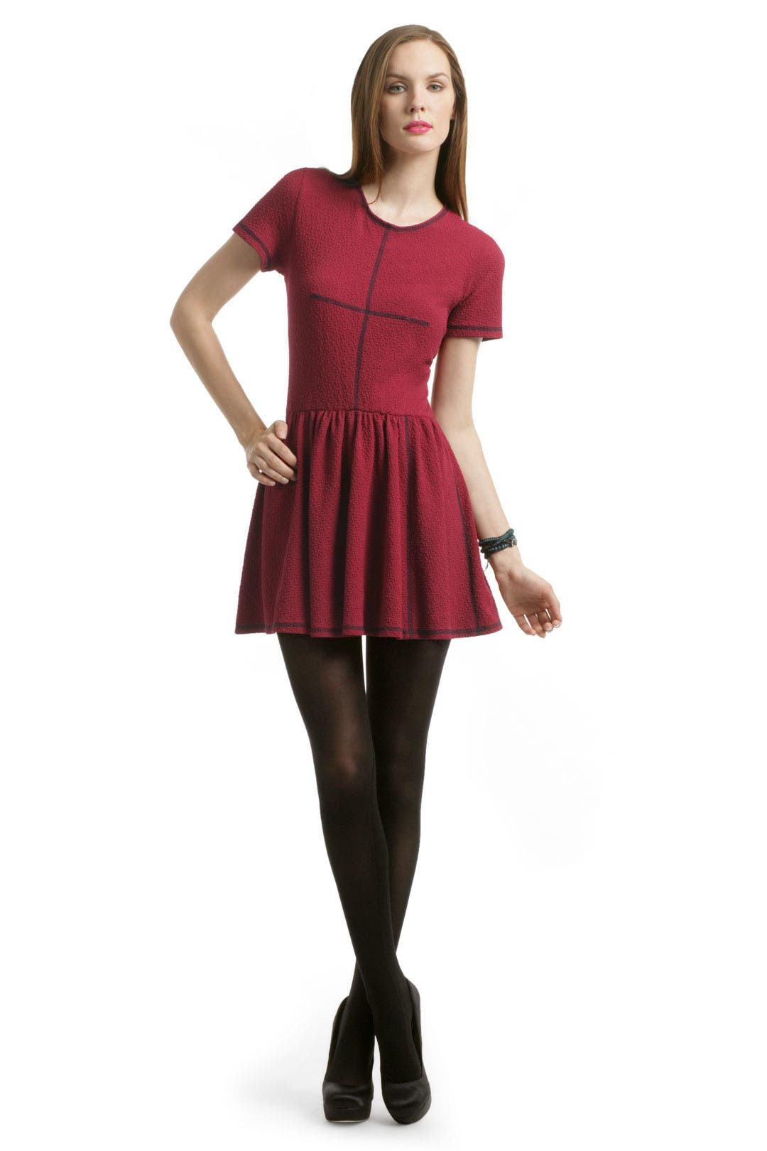 Red Pebble Dress by Opening Ceremony