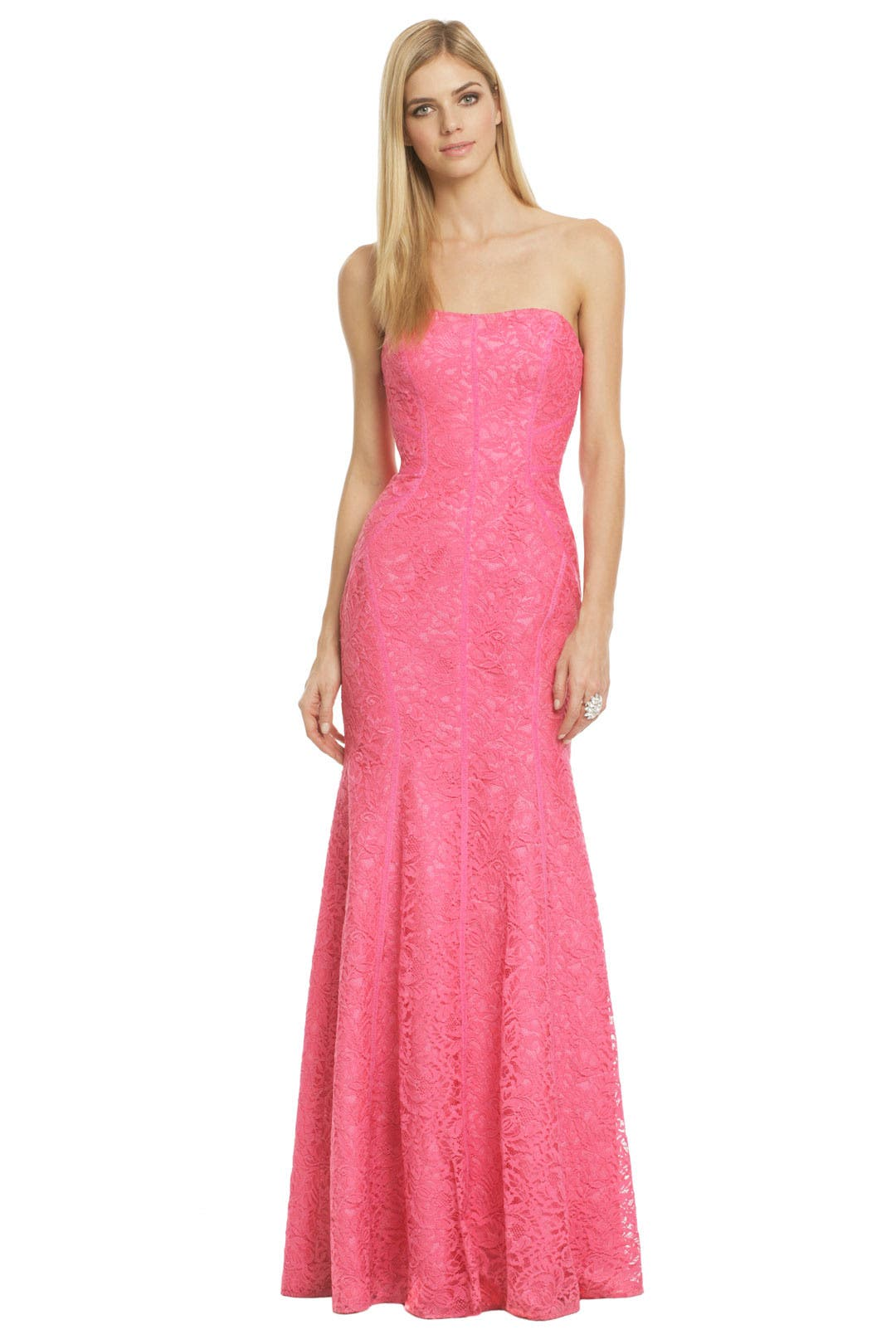 Sweet As Candy Gown by ML Monique Lhuillier for $103 | Rent the Runway