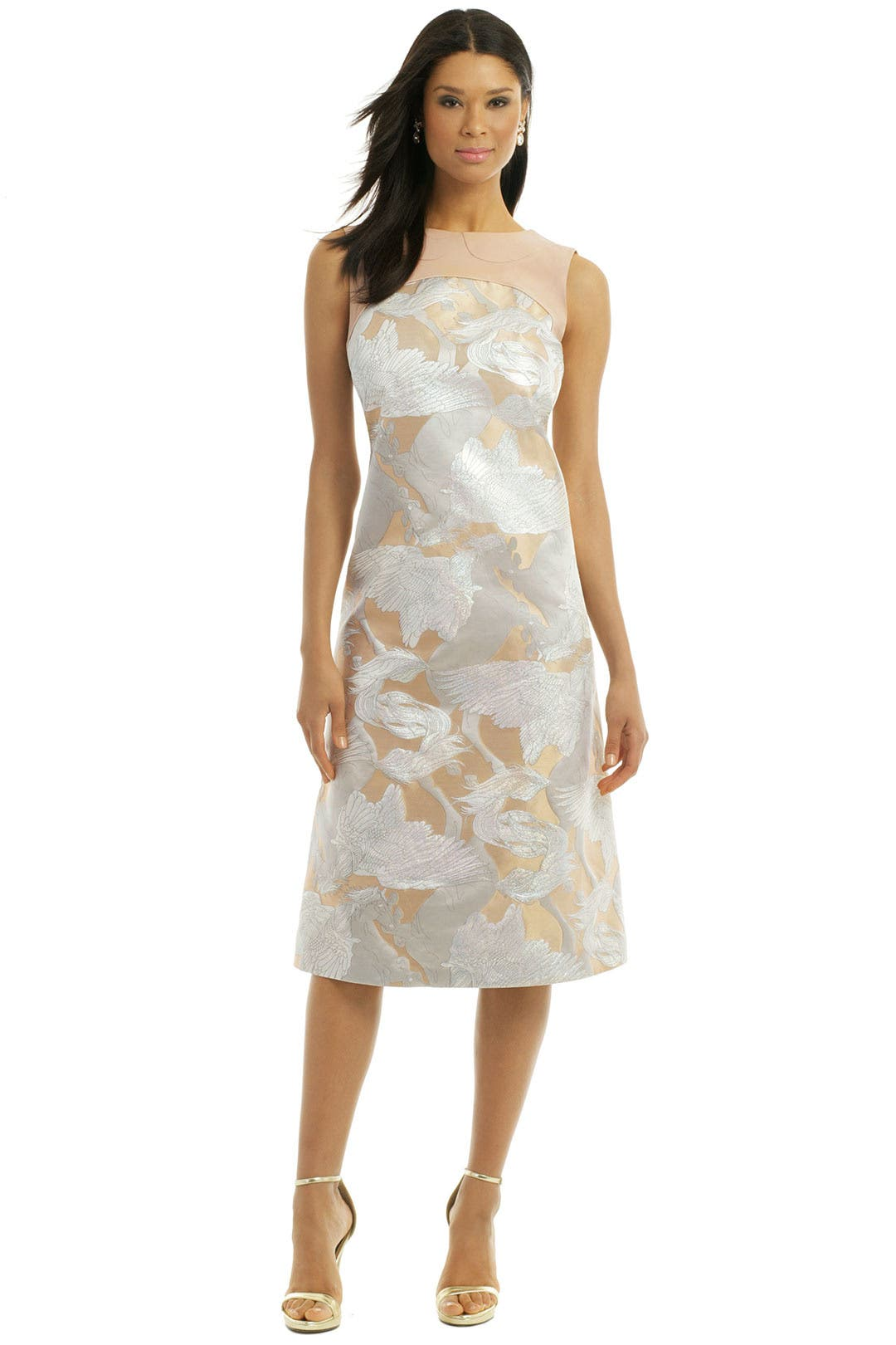 Pegasus Jacquard Dress by Giles