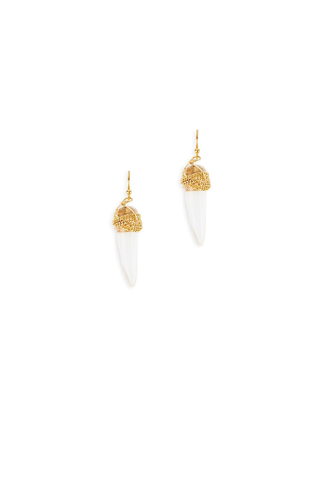 Saber Tooth Earrings by AV Max