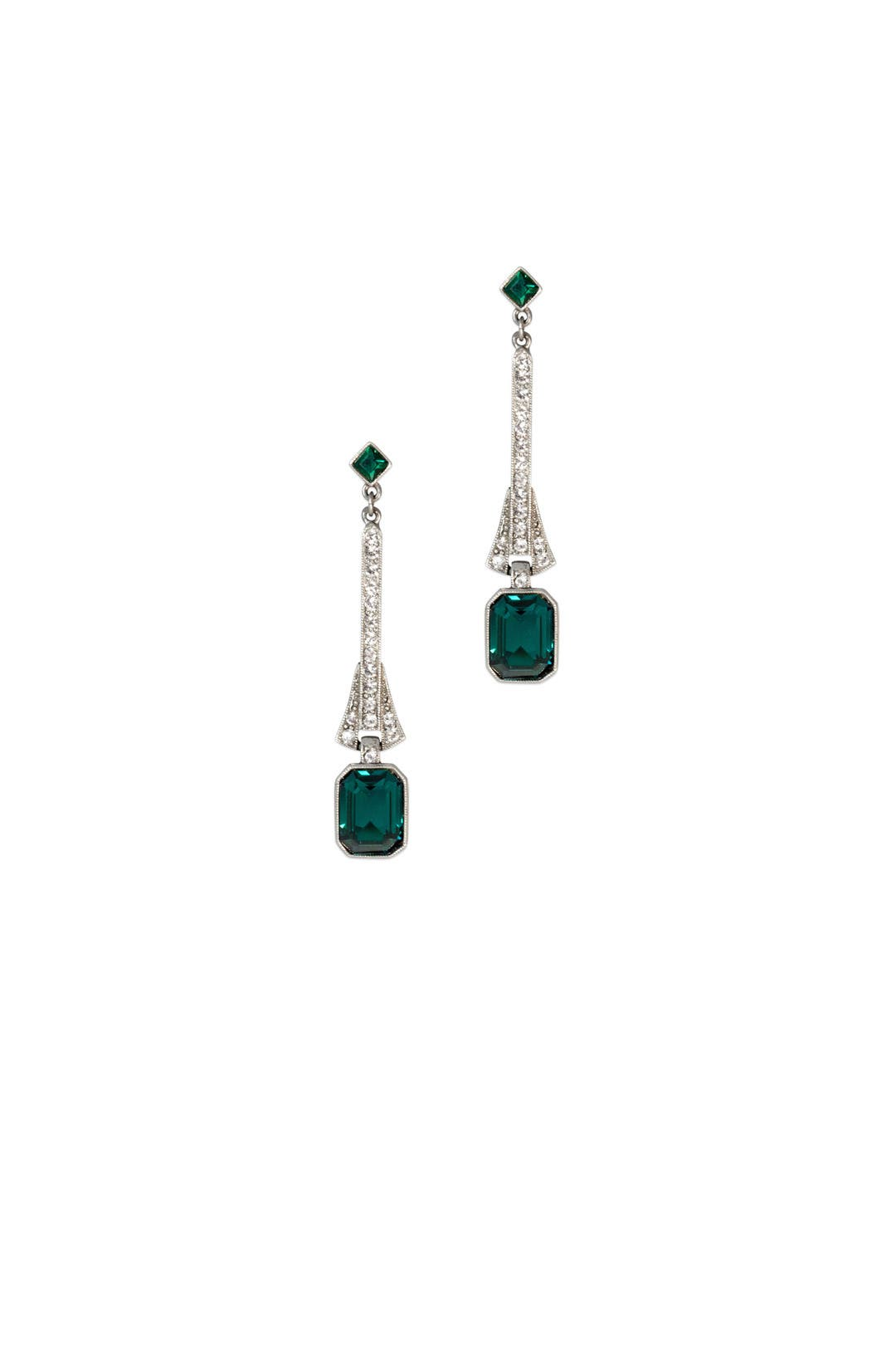 Linear Emerald Drops by Ben-Amun