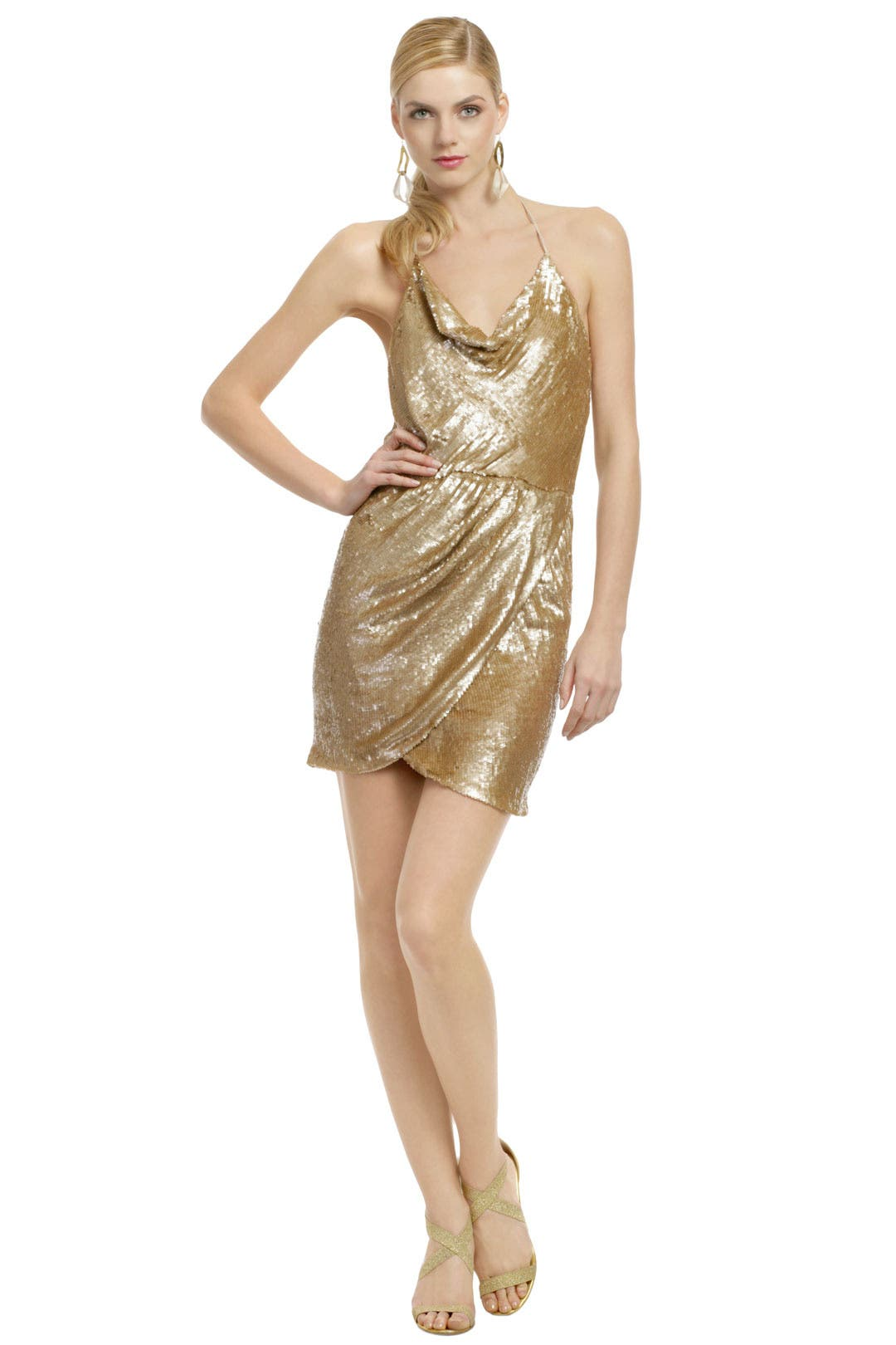 Sweet Almond Martini Dress by Haute Hippie