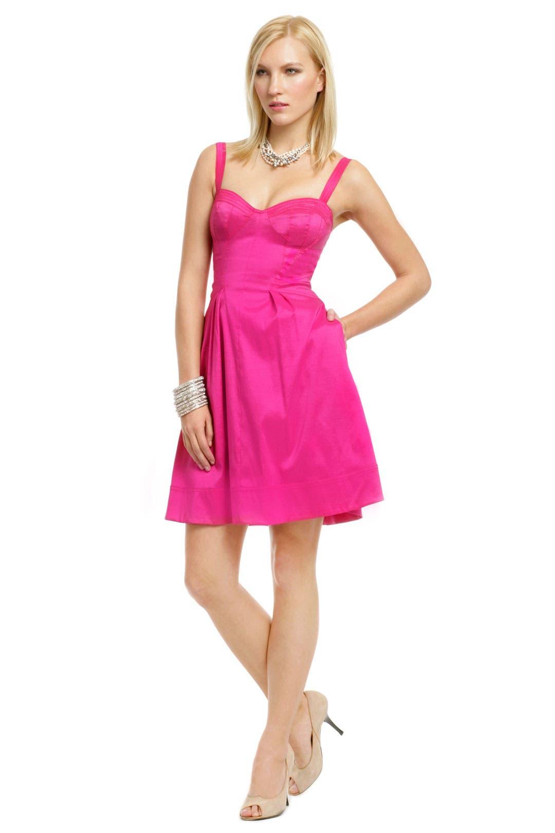 Pinch of Pink Flare Dress by Z Spoke Zac Posen