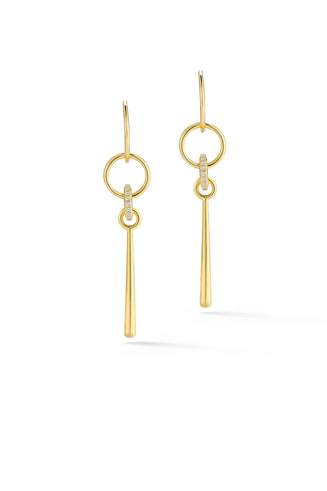 Gold Bonnie Earrings By Elizabeth And James Accessories For $40  Rent The  Runway