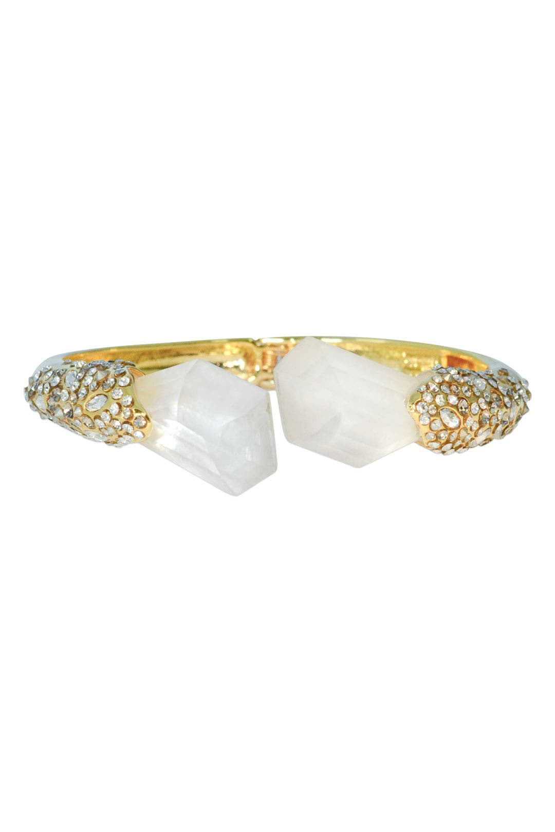 Serpentine Quartz Cuff by Alexis Bittar