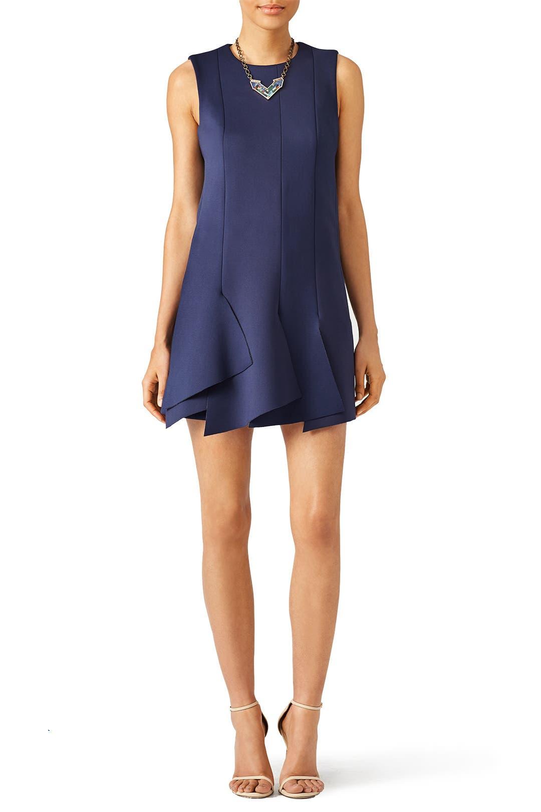 Tibi Keno Knit Layered Dress