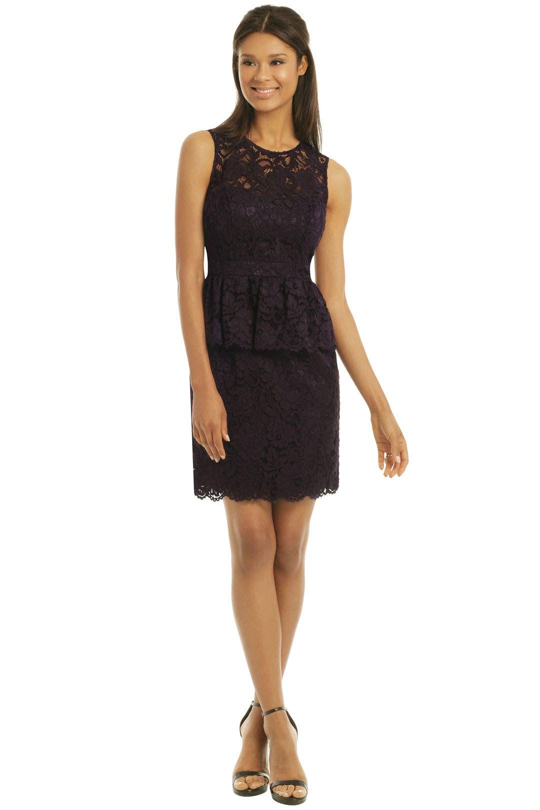 Celeste Peplum Dress by Shoshanna