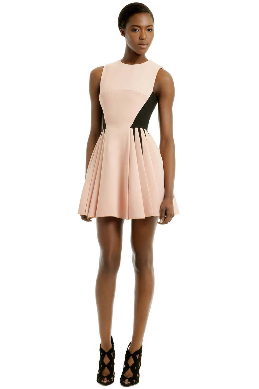 Blush Vanguard Dress by David Koma