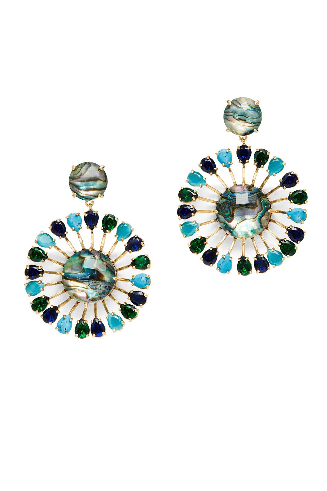 Peacock Way Earrings By Kate Spade New York Accessories For $23  Rent The  Runway
