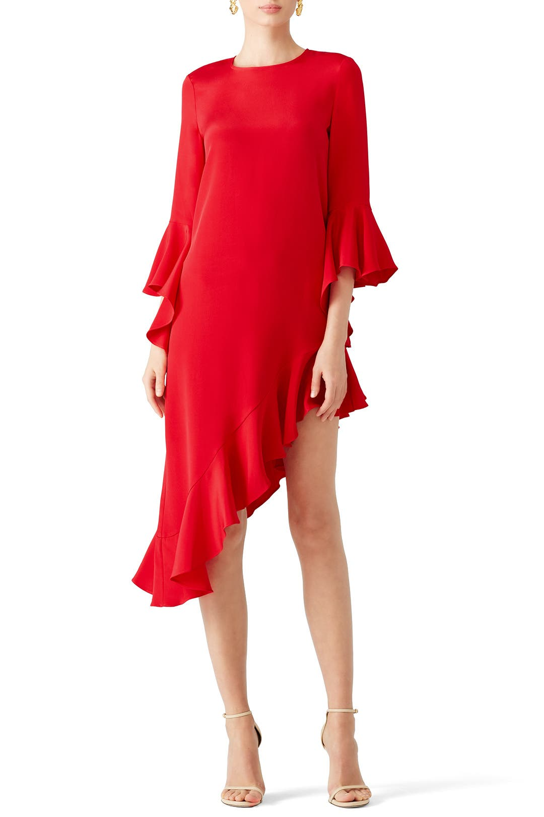 Red Hazel Dress By Alexis For 90 Rent The Runway