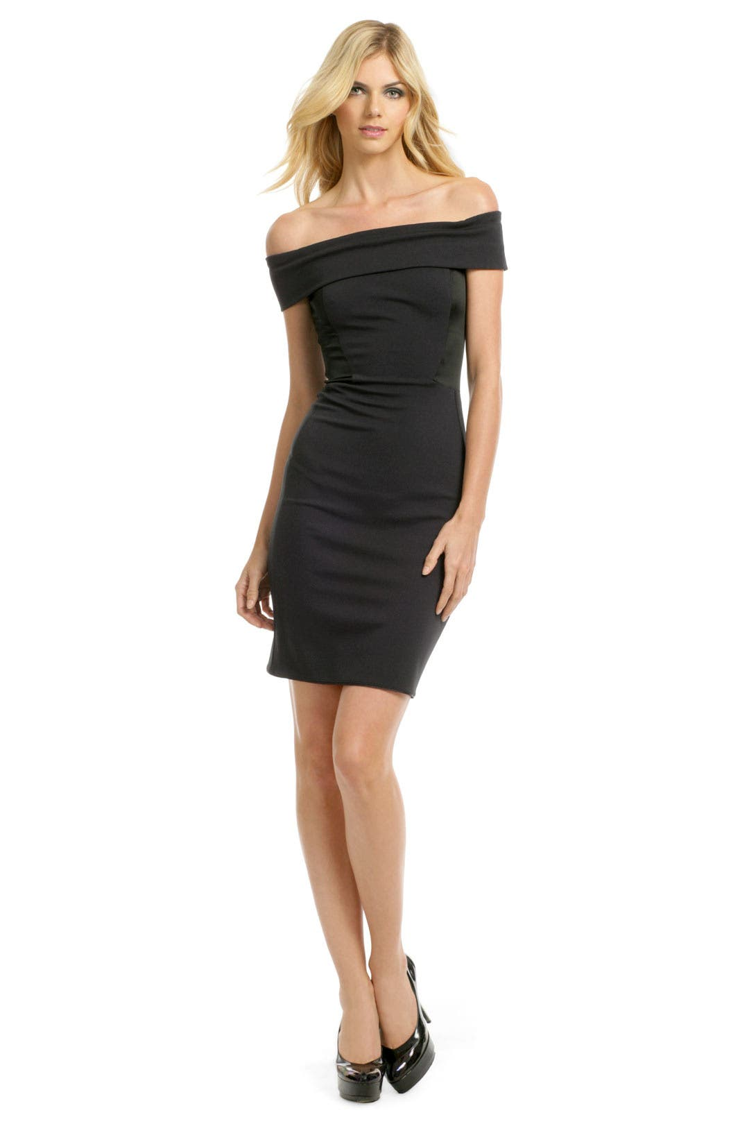Black Eclipse Dress by Halston Heritage