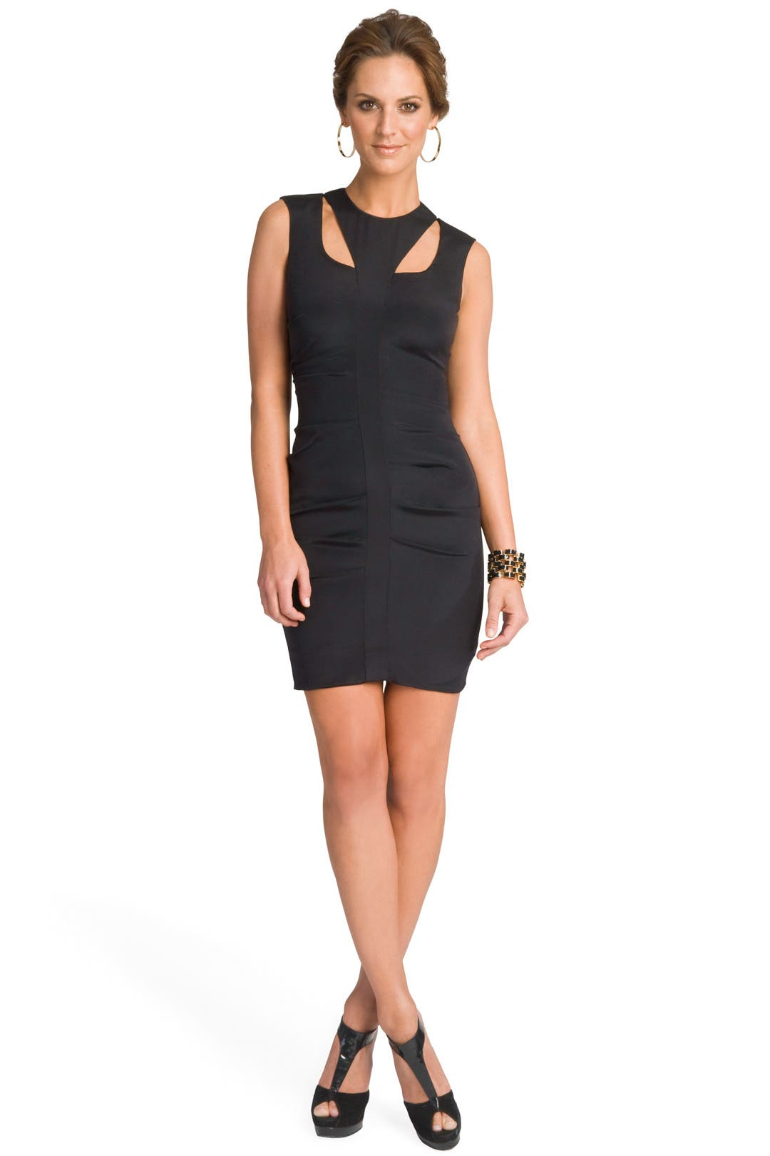 Look At Me Cut Out Dress by Nicole Miller