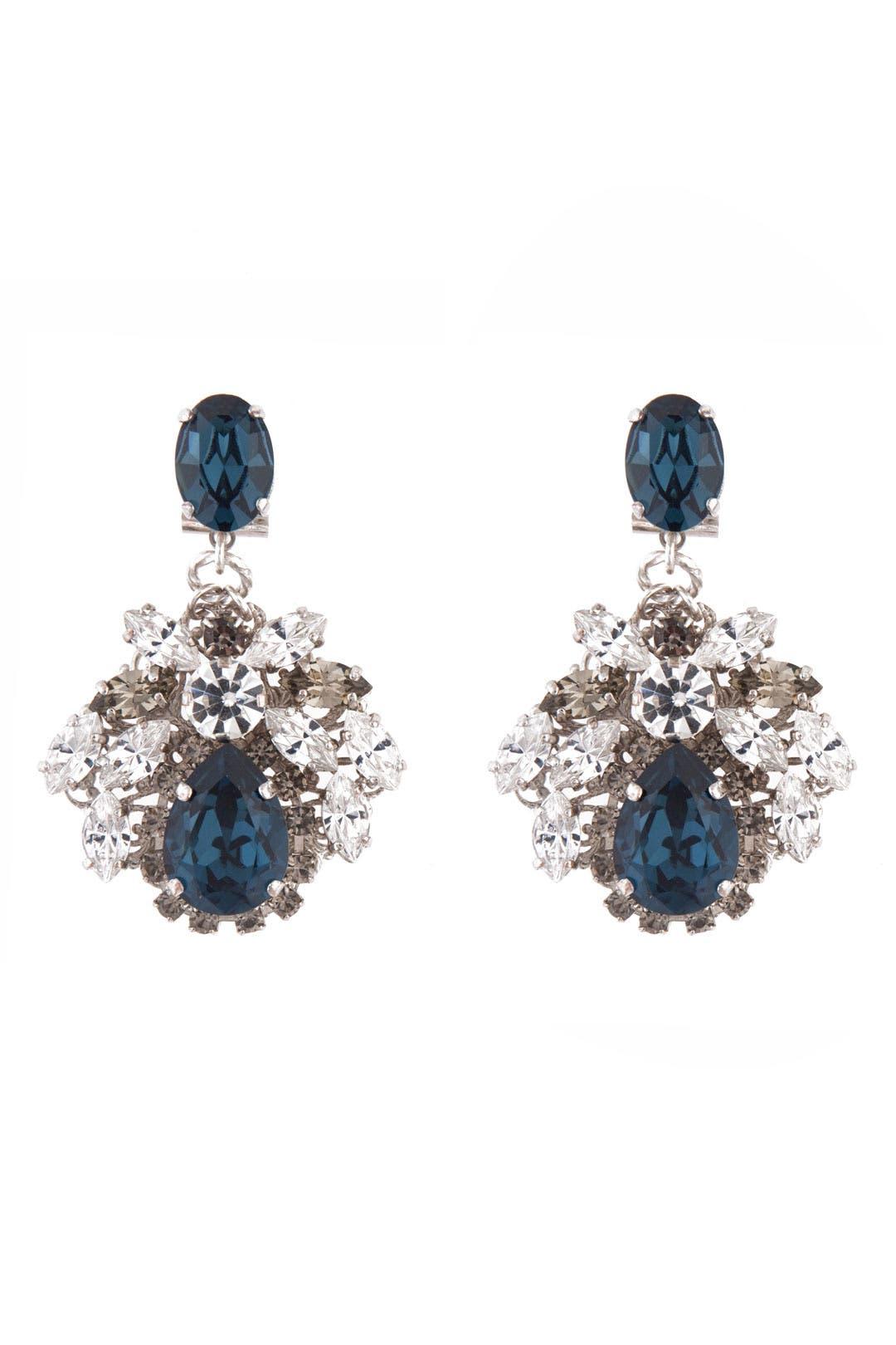Something Blue Earrings by Anton Heunis