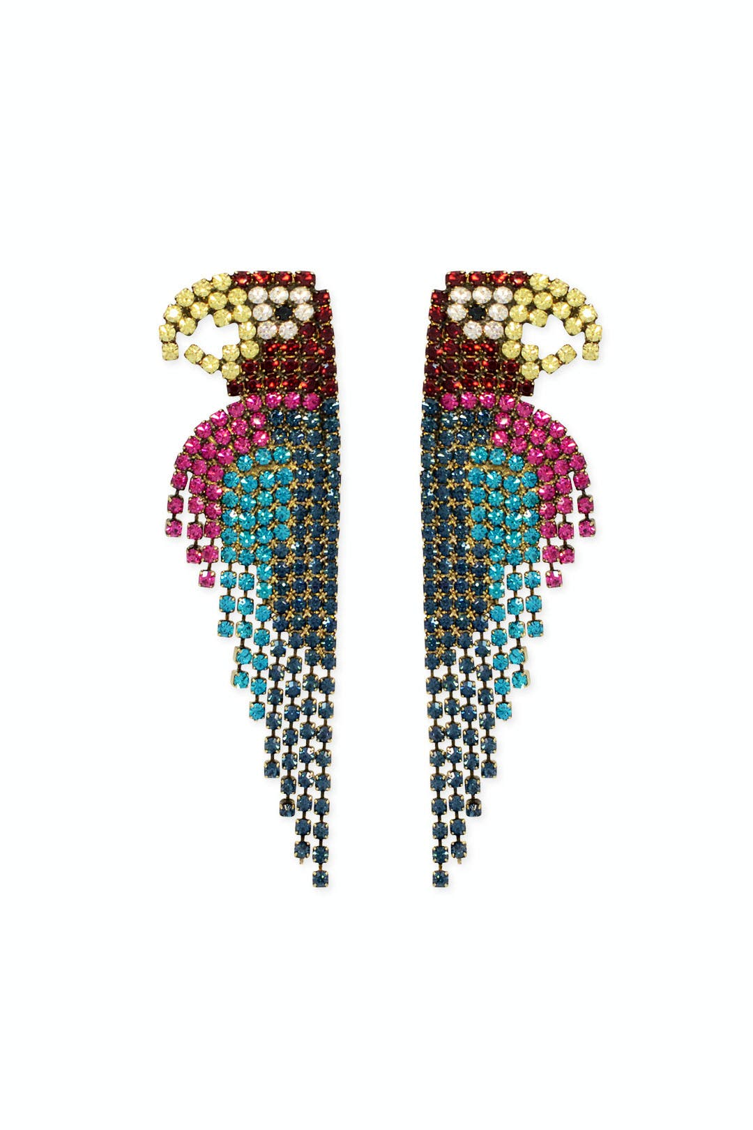 Pretty Parrot Earrings by Elizabeth Cole